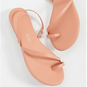 TKEES LC Sandals Sienna 8 pink strappy sandal